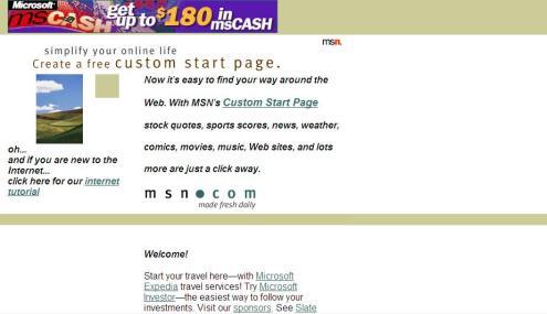 MSN.com 1996